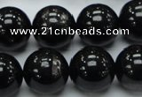 CHS03 15.5 inches 16mm round natural hypersthene gemstone beads
