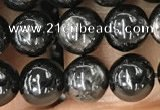 CHS58 15.5 inches 6mm round natural hypersthene beads wholesale