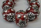 CIB221 18mm round fashion Indonesia jewelry beads wholesale
