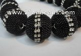 CIB427 25mm round fashion Indonesia jewelry beads wholesale