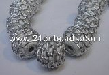 CIB440 16mm round fashion Indonesia jewelry beads wholesale