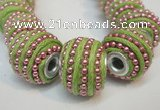 CIB471 14*14mm drum fashion Indonesia jewelry beads wholesale