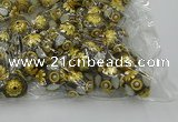 CIB539 22mm round fashion Indonesia jewelry beads wholesale