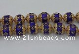 CIB553 22mm round fashion Indonesia jewelry beads wholesale