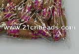 CIB603 16*60mm rice fashion Indonesia jewelry beads wholesale