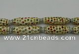 CIB615 16*60mm rice fashion Indonesia jewelry beads wholesale