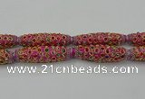 CIB620 16*60mm rice fashion Indonesia jewelry beads wholesale