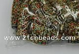 CIB628 16*60mm rice fashion Indonesia jewelry beads wholesale