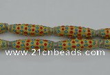 CIB632 16*60mm rice fashion Indonesia jewelry beads wholesale