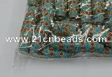 CIB637 16*60mm rice fashion Indonesia jewelry beads wholesale