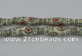 CIB645 16*60mm rice fashion Indonesia jewelry beads wholesale