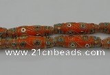 CIB667 16*60mm rice fashion Indonesia jewelry beads wholesale