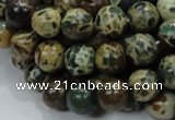 CIJ03 15.5 inches 12mm round impression jasper beads wholesale