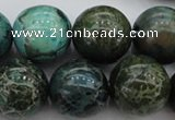 CIJ108 15.5 inches 12mm round dyed impression jasper beads wholesale