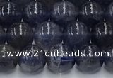 CIL127 15.5 inches 8mm round natural iolite beads wholesale