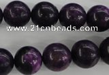 CJJ06 15.5 inches 14mm round dyed lucky jade beads wholesale