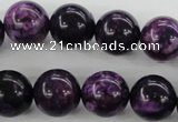 CJJ07 15.5 inches 16mm round dyed lucky jade beads wholesale