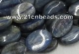 CKC11 16 inches 15*20mm flat oval natural kyanite beads wholesale