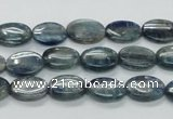 CKC205 15.5 inches 8*12mm oval natural kyanite beads wholesale