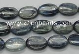 CKC206 15.5 inches 10*14mm oval natural kyanite beads wholesale