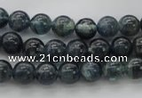 CKC222 15.5 inches 8mm round natural kyanite beads wholesale