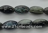 CKC232 15.5 inches 10*17mm rice natural kyanite beads wholesale