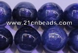 CKC427 15.5 inches 12mm round AAA grade natural blue kyanite beads