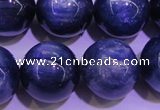 CKC428 15.5 inches 14mm round AAA grade natural blue kyanite beads