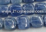 CKC522 15.5 inches 10mm square natural Brazilian kyanite beads