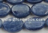 CKC535 15.5 inches 12*16mm oval natural Brazilian kyanite beads