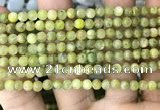 CKC765 15.5 inches 4mm round natural green kyanite beads