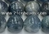 CKC776 15.5 inches 10mm round blue kyanite beads wholesale
