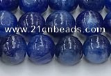 CKC778 15.5 inches 6mm round blue kyanite beads wholesale