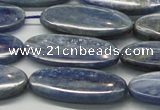 CKC95 15.5 inches 13*30mm oval natural kyanite gemstone beads