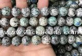 CKJ411 15.5 inches 12mm round k2 jasper beads wholesale