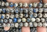 CKJ422 15.5 inches 8mm round k2 jasper beads wholesale