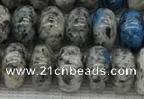 CKJ437 15.5 inches 5*8mm - 5*9mm rondelle natural k2 jasper beads