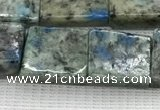 CKJ444 15.5 inches 11*12mm - 12*16mm rectangle natural k2 jasper beads