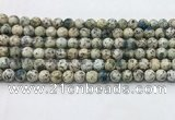 CKJ453 15.5 inches 6mm round natural k2 jasper beads wholesale