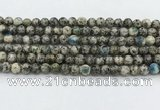 CKJ458 15.5 inches 6mm round natural k2 jasper beads wholesale