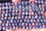 CKJ701 15.5 inches 6mm round imitation k2 jasper beads wholesale