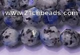 CKJ706 15.5 inches 6mm faceted nuggets imitation k2 jasper beads