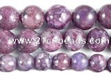 CKU16 15 inches 8mm,10mm & 12mm round purple kunzite beads