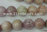 CKU206 15.5 inches 12mm round pink kunzite beads wholesale