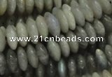 CLB09 16 inches 6*12mm roundel labradorite gemstone beads wholesale