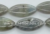 CLB110 15.5 inches 15*30mm marquise labradorite gemstone beads wholesale
