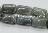 CLB122 15.5 inches 13*18mm rectangle labradorite gemstone beads wholesale