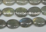 CLB173 15.5 inches 12*16mm oval labradorite gemstone beads