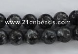 CLB354 15.5 inches 12mm round black labradorite beads wholesale