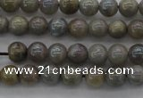 CLB601 15.5 inches 6mm round AB-color labradorite beads